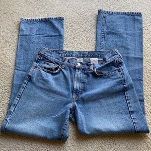 Lucky Brand Dungarees Plain Jane Flare Jeans 10